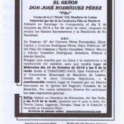 "DON JOSÉ RODRÍGUEZ PÉREZ ""PIÑO"""