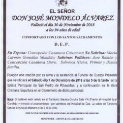 DON JOSE MONDELO ALVAREZ