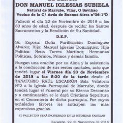 DON MANUEL IGLESIAS SUBIELA