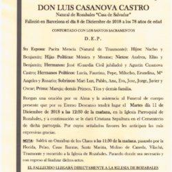 DON LUIS CASANOVA CASTRO