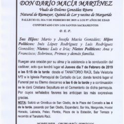 DON DARIO MACIA MARTINEZ
