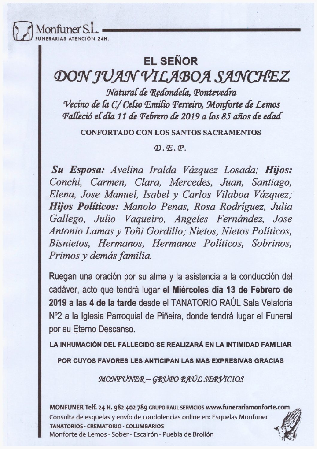 DON JUAN VILABOA SANCHEZ