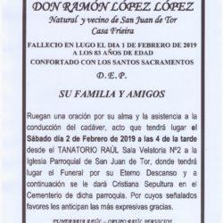 DON RAMON LOPEZ LOPEZ