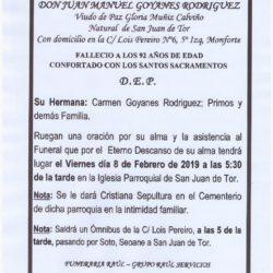 DON JUAN MANUEL GOYANES RODRIGUEZ