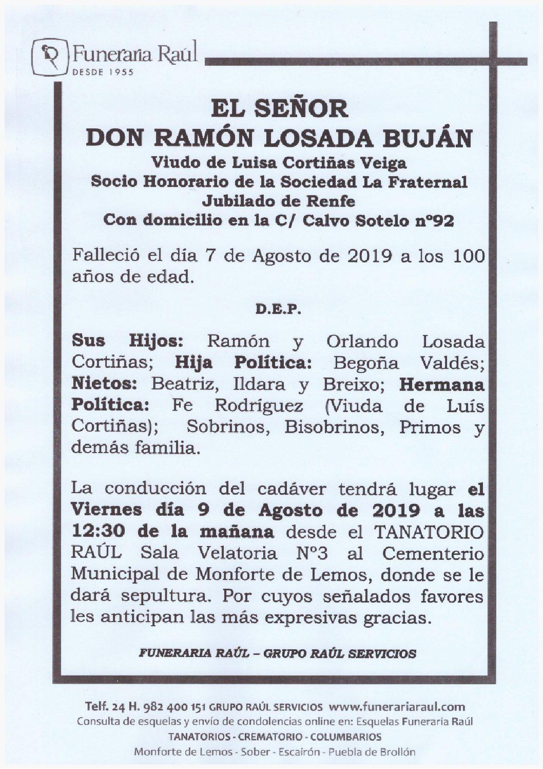 DON RAMON LOSADA BUJAN