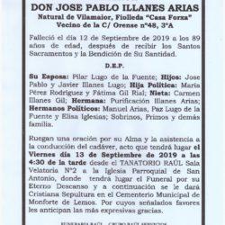 DON JOSE PABLO ILLANES ARIAS