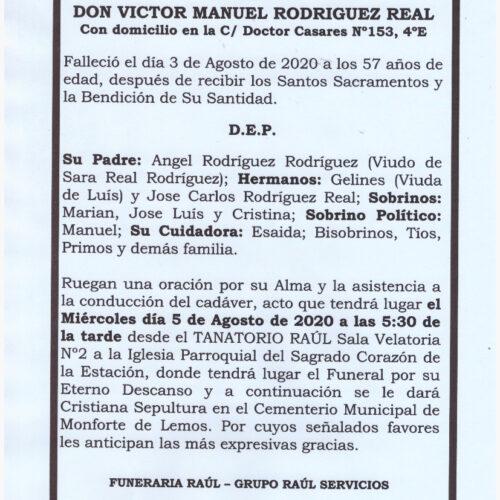 DON VICTOR MANUEL RODRIGUEZ REAL